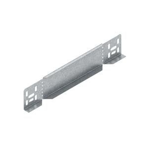 RA 60.400, Reduzier-/Abschlussstück für KR, 60x400 mm, Stahl, bandverzinkt DIN EN 10346, inkl. Zubehör