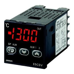 E5CSV-Q1TD-500 24VAC/DC, Temperaturregler, 1/16 DIN, spannungsschaltend 12V DC, 1 Alarmausgang, Thermoelement & Pt100-Eingang, DIP-Schalter, 24V AC/DC