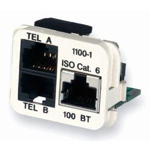 INSERT 10/100BT & 2x TEL /W