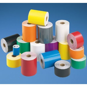Tape,Vinyl,4inx100ft,YEL,EA