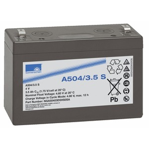 A504/3,5 S, Sonnenschein Blei-Gel Akku A 504/3,5 S