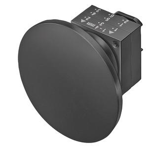 3SB3000-1QA41, Pilzdrucktaster, 22mm, rund Kunststoff, grün