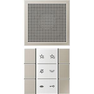 SI AI ES 6, Audio-Innenstation, Beschriftungsfeld, Beschriftungsfolien, Anschlusskabel