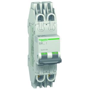 Leitungsschutzschalter C60, UL489, 2P, 6A, D Charakt., 480Y/277V AC