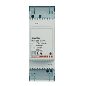 Spannungsversorgung 27V d.c., 600 mA – Versorgungsspannung: 230V a.c., Ausgang: 27V d.c.