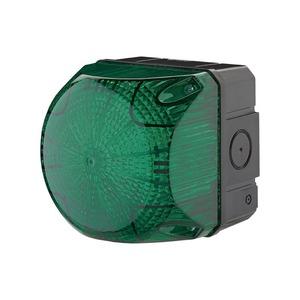 LED Dauer- / Blitzleuchte grün 230V
