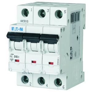 PXL-D40/3, Leitungsschutzschalter, 40A, 3p, D-Char