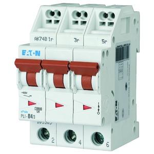 PLI-B4/3, Leitungsschutzschalter, 4A, 3p, B-Char