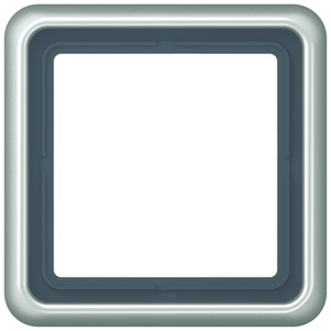 CD 581 PT, Rahmen, 1fach, für waagerechte und senkrechte Kombination