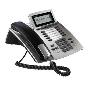 ST 22 IP silber, Systemtelefon für Anlagen mit ASIP Protokoll-Unterstützung