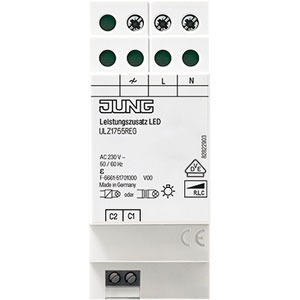 ULZ 1755 REG, LeistungszusatzLED, REG, elektronischer Übertemperaturschutz