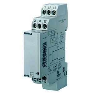 MPH2, Phasenfolgerelais AC 3x 208...440 V, 5 A, 2 We