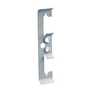 4Z34, Multifunktions-Klipp, M4, M6 (1/4) Stabgröße, 4,8 mm (#12–#8) Draht, 1/8–3/8 Flansch, 3–9 mm Flansch, 6,5 mm (1/4) Loch