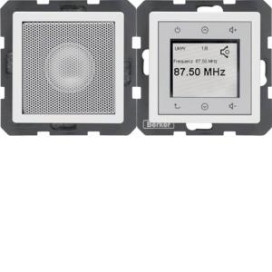 Radio Touch und Lautsprecher Q.1/Q.3 pw