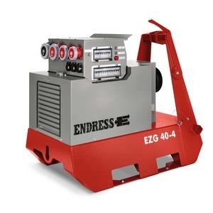 EZG 40/4 II/TN-S, Zapfwellengeneratoren - Generatordrehzahl 1500 U/min, 36,5 kVA - 400/230 V, IP 44 IT-TN