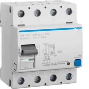 FI-Schalter 4P 10kA 63A 30mA Typ B NK