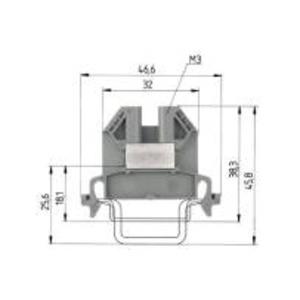 9700 A /  6 S35, Durchgangsklemme-9700 A /  6 S35