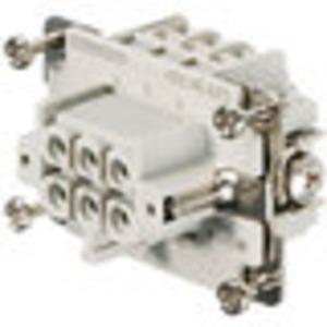 Kontakteinsatz für Rechtecksteckverbinder