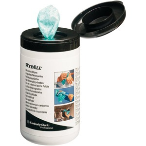 Reinigungstücher Wypall perfo. grün 27x27cm 6x50 St
