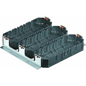 MS3 3UT4, Montageset Schwerlast mit 3 Universalträgern UT4 250x250x44, St, FS