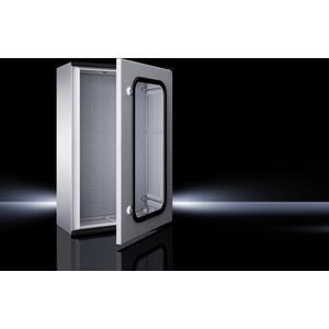 KS 1467.500, Kunststoff-Schaltschrank KS, 1-türig mit Sichtfenster, BHT 600x600x200 mm