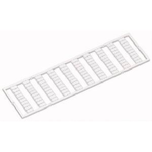 WMB-Beschriftungskarte 31 ... 40 (10x) nicht dehnbar Aufdruck senkrecht weiß