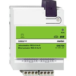 Jalousieaktor REG-K/4x/6, lichtgrau