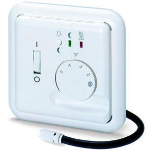 Fre F2T, UP-Fussbodenregler, AC 230V, 1S, 16A, Lampen: Wärme, Absenkbetrieb. Lastunterbrechung nach EN 50559