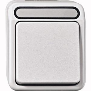 Aus-Kontrollschalter, 2-polig, polarweiß, AQUASTAR