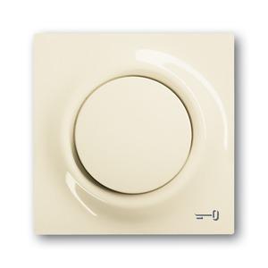 1789 TR-72, Zentralscheibe, elfenbein/weiß, impuls, Abdeckungen für Schalter/Taster