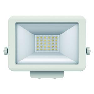 theLeda B20L WH, LED-Strahler für Wandmontage, 20 Watt, weiß