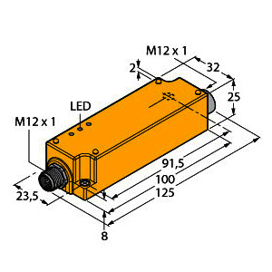 IMC-AIA-11EX-I/24VDC, Messumformer-Speisetrenner, 1-kanalig, TÜV 07 ATEX 553644