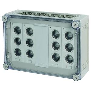 RS33/I43-125, Sicherungskasten, 4x3xE33, HxBxT=250x375x150mm