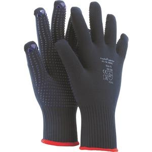 MEDEX Polyflex(R) Light blue, 5-Finger, PVC-Noppen einseitig, Gr. 9