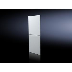DK 5501.030, Seitenwand geteilt, HxT 2000x1000, RAL 7035