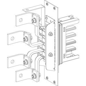 KSA Zubehör, Flanschplatte mit 1 Zugentlastung für KSA250BT4
