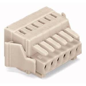 1-Leiter-Federleiste 100% fehlsteckgeschützt Verriegelungsklinke 1,5 mm² Rastermaß 3,5 mm 2-polig lichtgrau