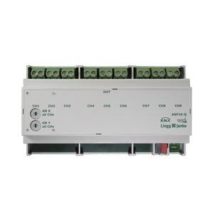A9F16-Q, KNX quick Schaltaktor 9-fach, 9 TE  Schaltleistung 16A 250 VAC, C-Last 200µF