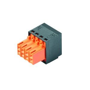 B2L 3.50/14/180QV7 SN BK BX, Leiterplattensteckverbinder, seitlich geschlossen, 3.50 mm, Polzahl: 14, verzinnt, schwarz, Box