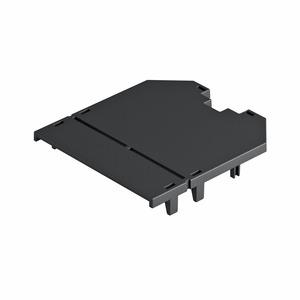 UT3 P0, Abdeckplatte für UT3, blind 82,5x76x2, PA, graphitschwarz, RAL 9011