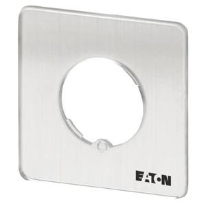 FS980-TM-EZ, Frontschild, verwendbar für TM…/EZ, 29 x 29 (für Rahmen 30 x 30) mm, unbeschriftet, gravierbar