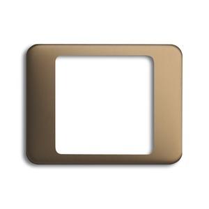 1716-21, Zentralscheibe, bronze, alpha, Abdeckungen für LED-Licht