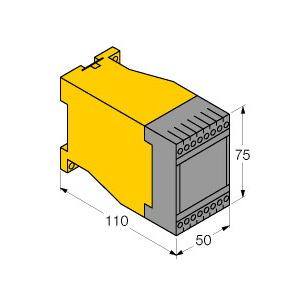 MS96-12R/230VAC, Strömungsüberwachung MS96 für Strömungssensoren