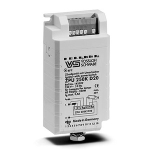 Überlagerungszündgerät HS 70-250W mit Leistungsumschalter + Abschaltautom.