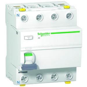 Fehlerstrom-Schutzschalter iID, 4P, 80A , 100mA, Typ A