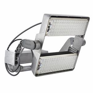 BVP515 1240/757 230V HGB DX50 D9 T25 100, OptiVision LED gen2 - LED High Brightness - 757 Kaltweiß - 230 V - Asymmetrisch breitstrahlend - Farbe: Aluminium