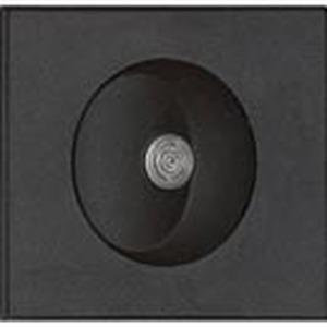 Für Evoline-Systeme, Schalter mit Leuchtdiode (orange), nur eingebaut bestellbar