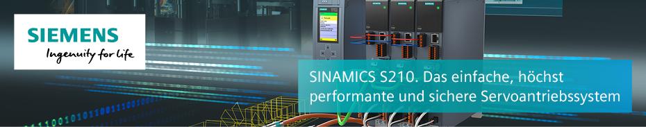 SINMAICS Frequenzumrichter von Siemens