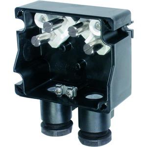 GHG 791 0101 R0001, Ex-e Abzweigdose GHG 791 01, 2 x M25 Leitungseinführung, Polyamid, angeformt4 x 4 mm² + 2x4 mm² PE, Mantelkemmen, Geh. Material: Polyamid