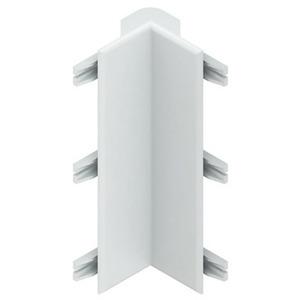 HBSVI80.3, Stoßstellenabdeckung, Deckelöffnung 80 mm, für Inneneck, reinweiß